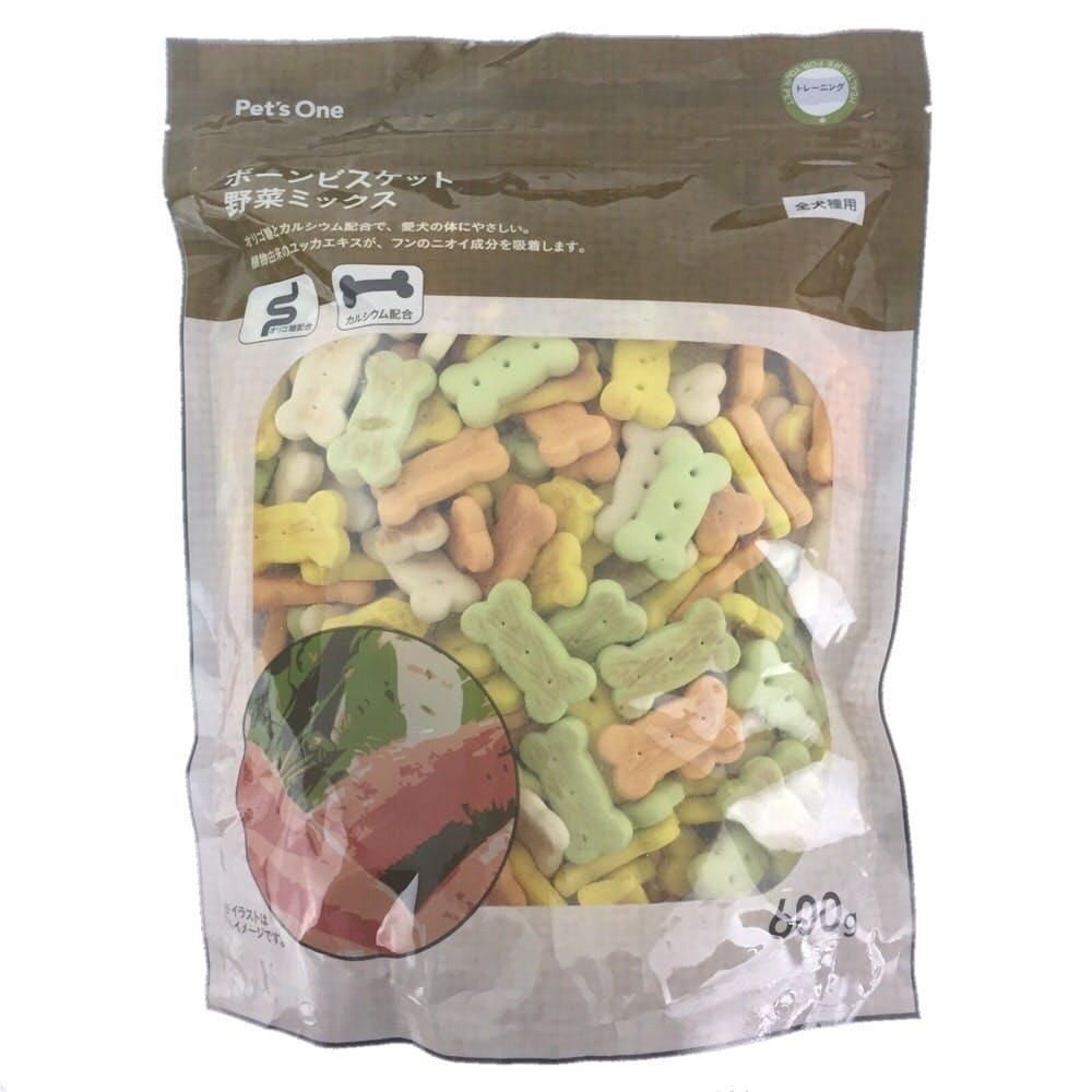 Pet'sOne ボーンビスケット 野菜ミックス 600g, , product