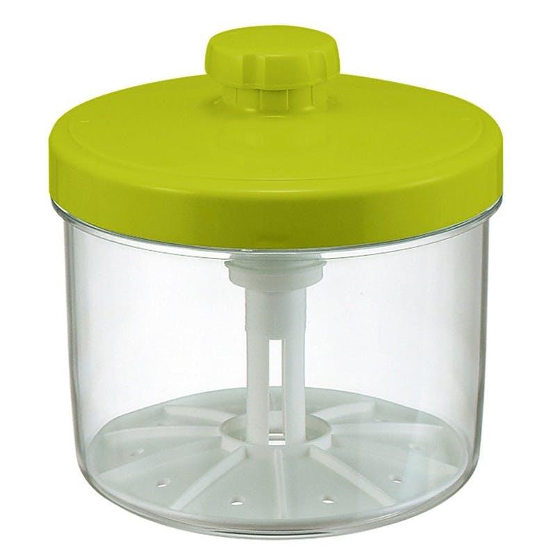 即席つけもの器 丸4型 グリーン, , product