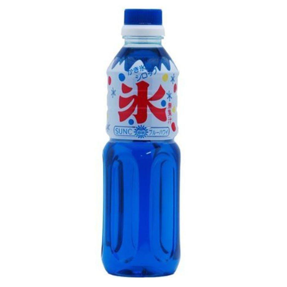 サンクラウン果精 SUNC かき氷シロップ ブルーハワイ 500ml, , product