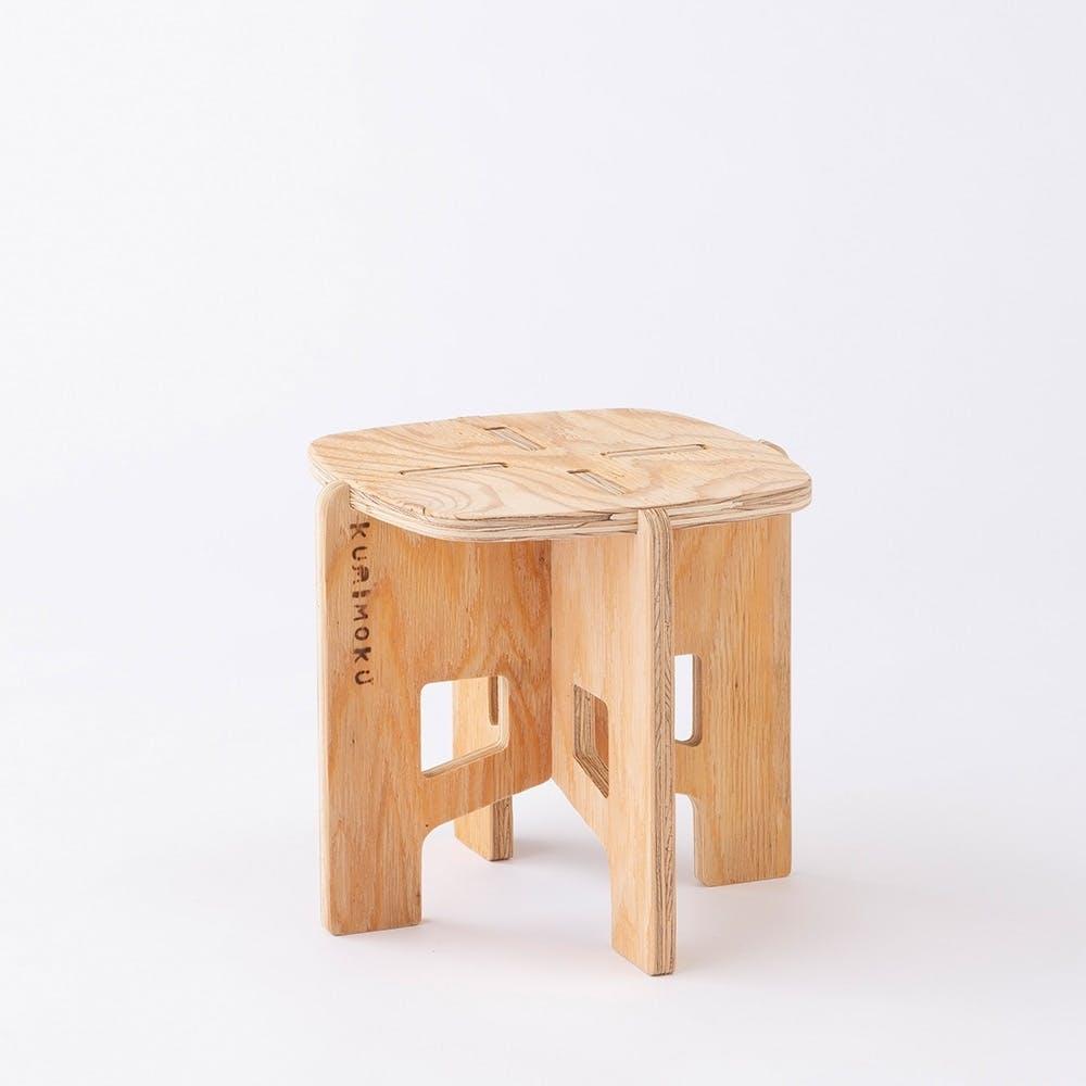 Kumimoku クロスレッグチェア 角小, , product