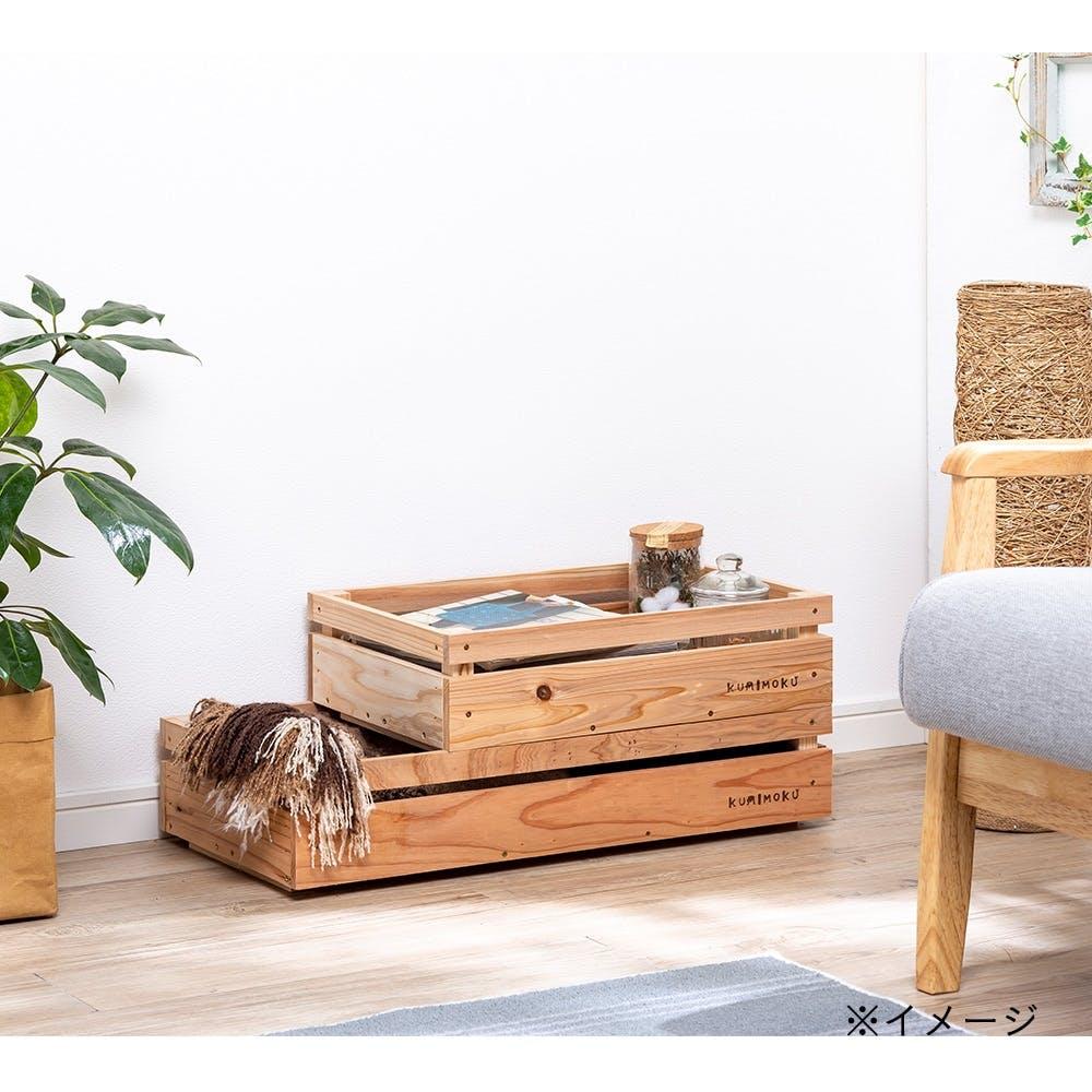 【店舗限定】Kumimoku カントリーBOX 浅型 小, , product