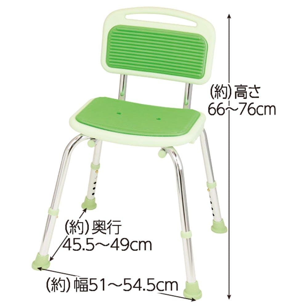幸和製作所 テイコブ シャワーチェア(背付)グリーン, , product