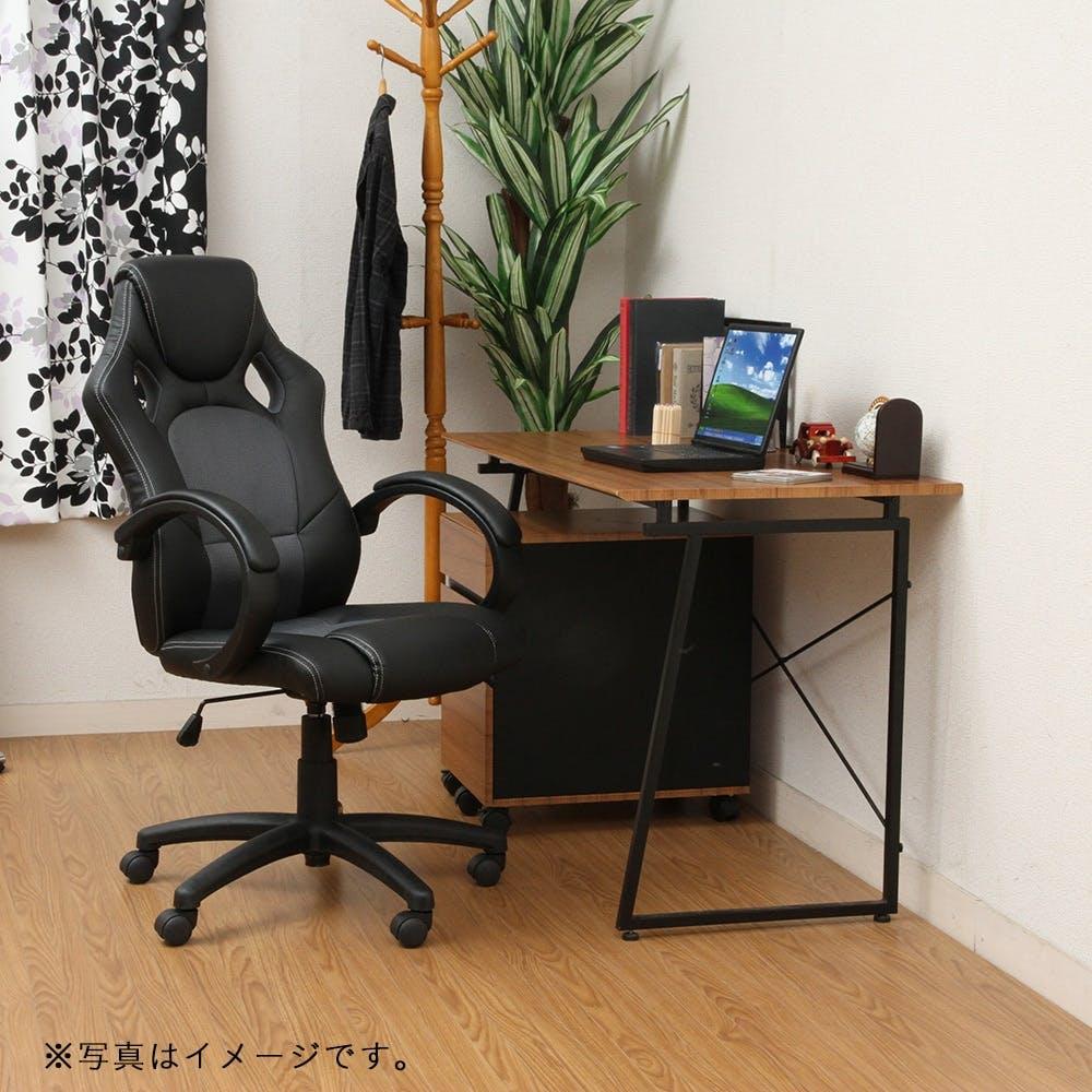 レーシングチェアー サーキット ブラック【別送品】, , product