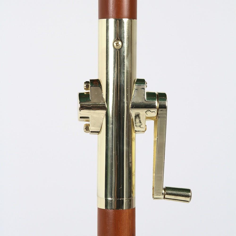 木製パラソル 270cm グリーン【別送品】, , product