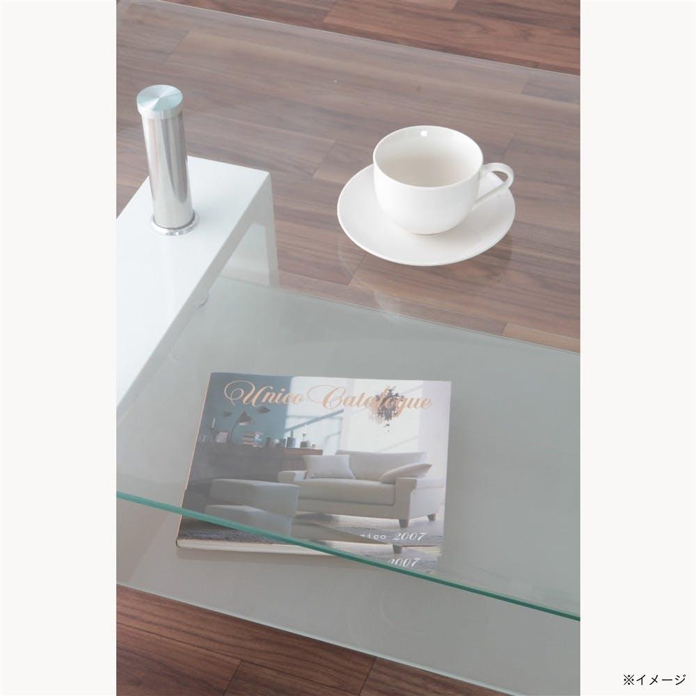 センターテーブル フォーカス ホワイト【別送品】, , product