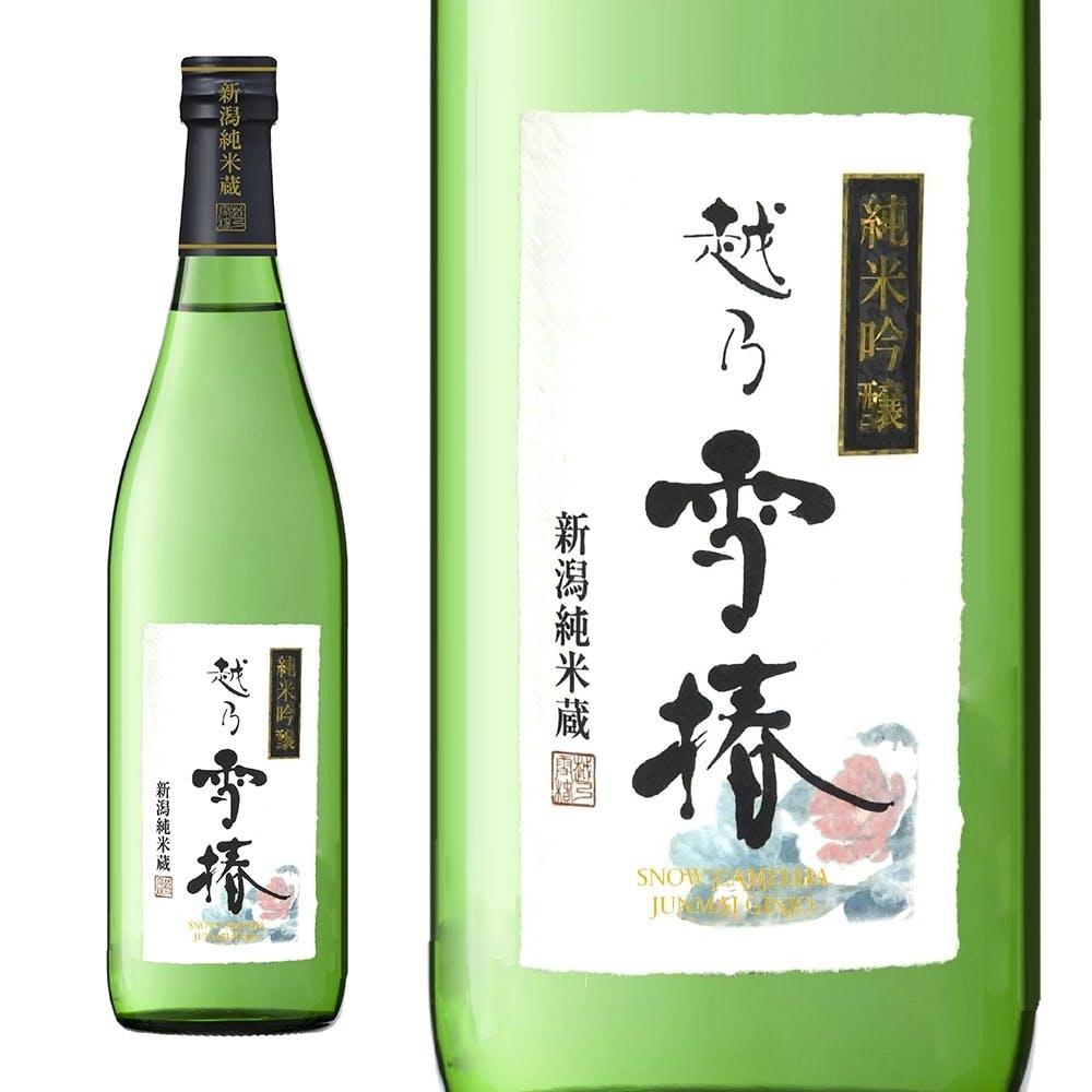 越乃雪椿 純米吟醸 花 720ml【別送品】, , product