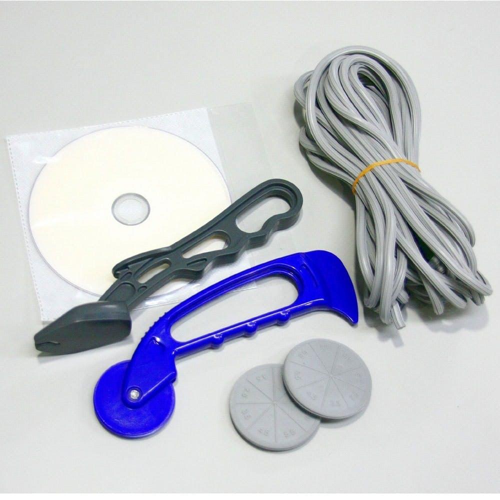 網戸張り替え用品 5点セット グレイ, , product