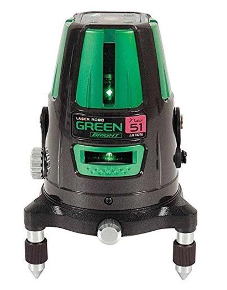 レーザーロボグリーンNeo51BRIGHT(縦・横・大矩・通り芯x2・地墨), , product