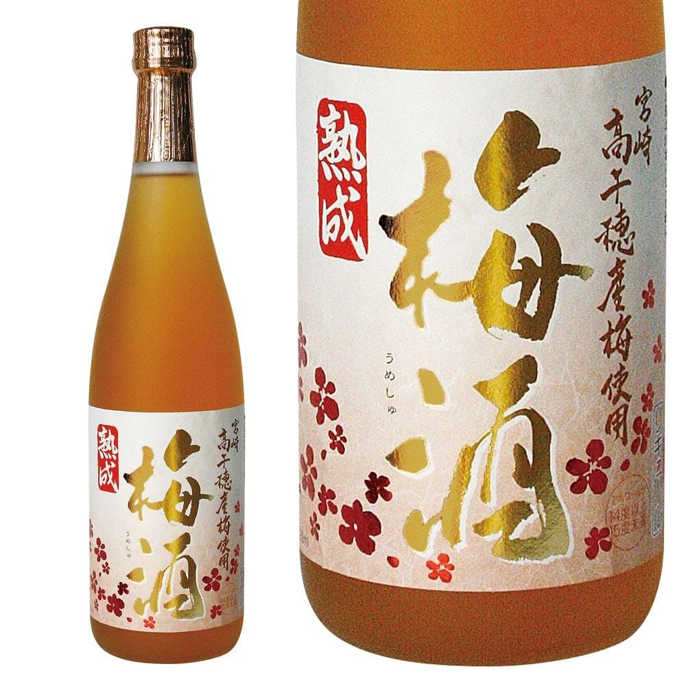 熟成 高千穂梅酒 720ml【別送品】, , product