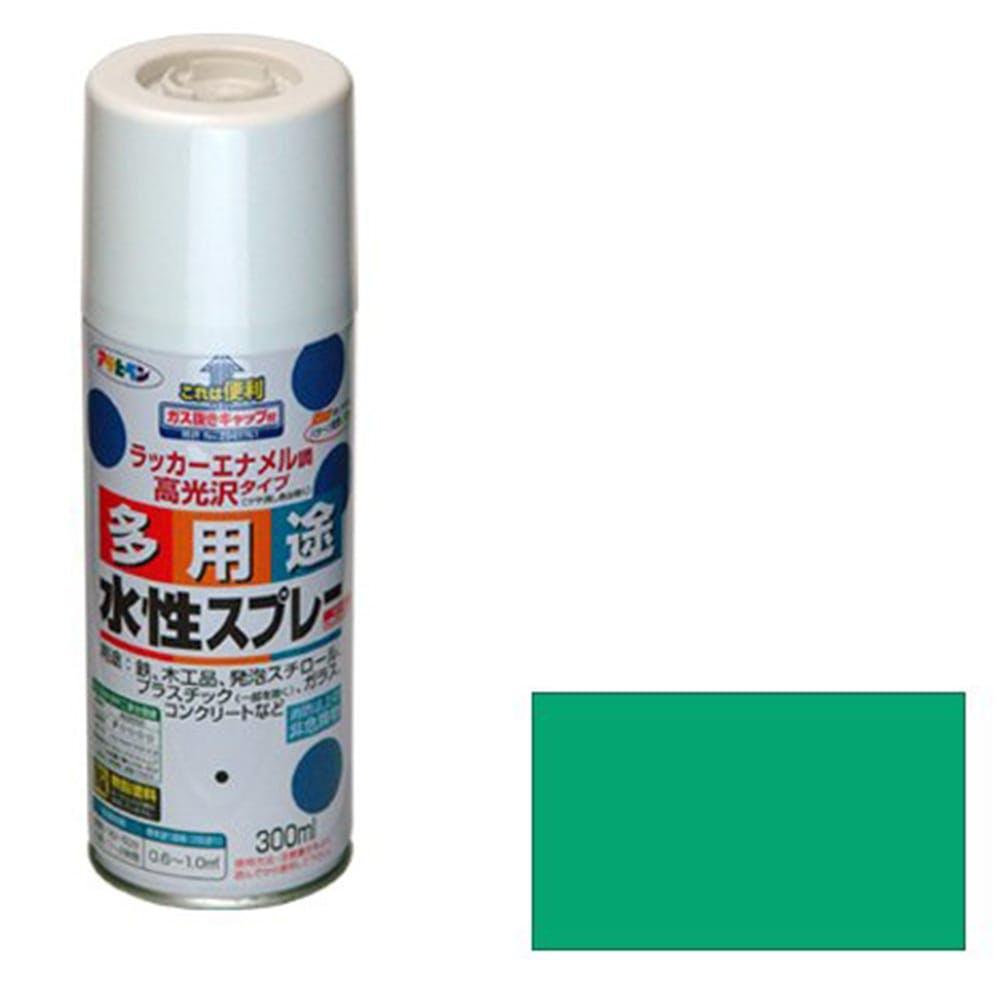 水性多用途スプレー 300ml トロピカルグリーン, , product
