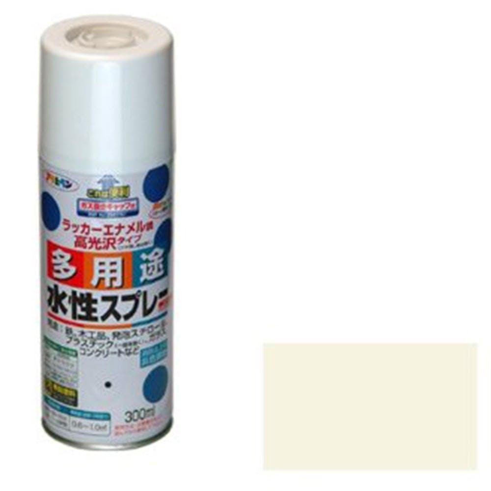 水性多用途スプレー 300ml アイボリー, , product