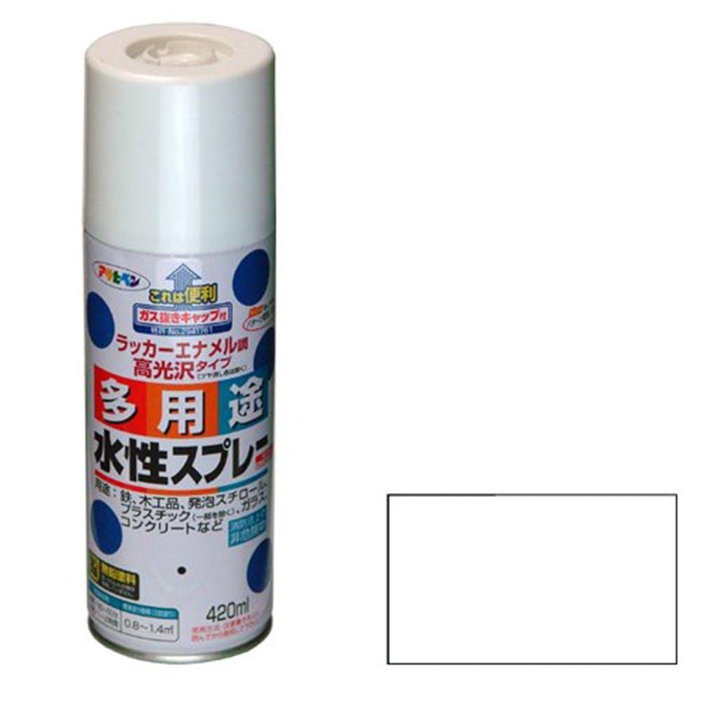 水性多用途スプレー 420ml 白, , product
