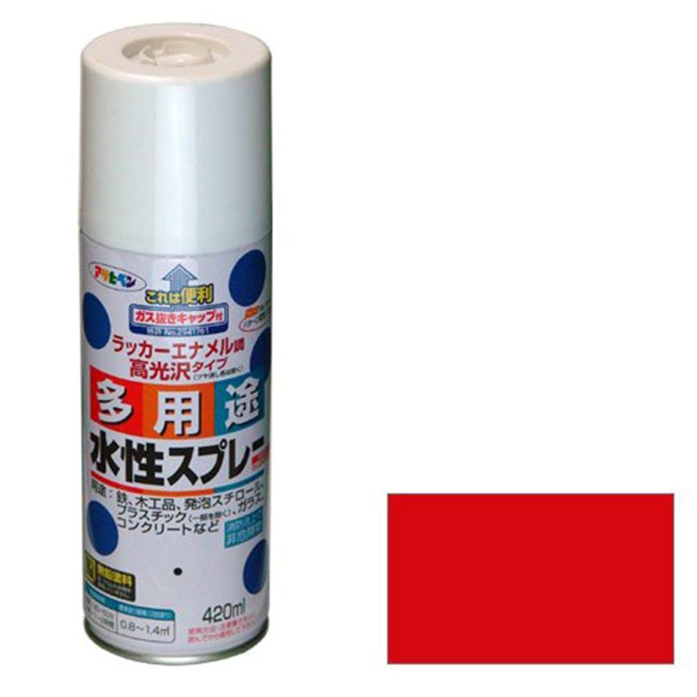 水性多用途スプレー 420ml 赤, , product