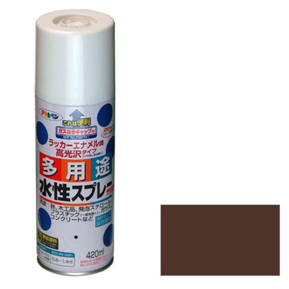 水性多用途スプレー 420ml ブラウン, , product