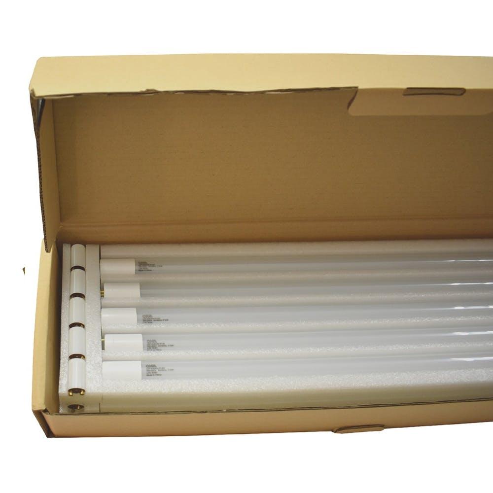 オーム電機 直管LEDランプ 40形相当 G13 昼白色 グロースタータ器具専用 片側給電仕様 10本入 LDF40SS・N/17/23K1 06-0921, , product