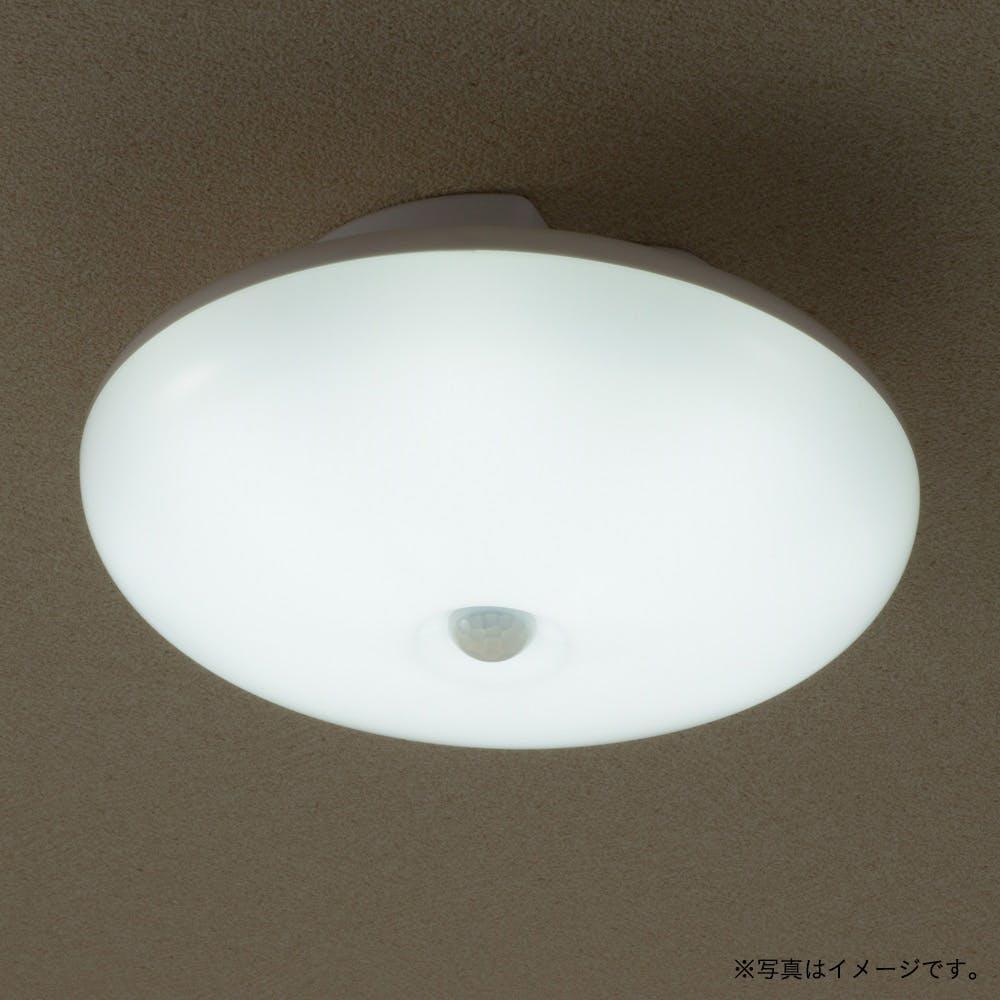 オーム電機 LEDミニシーリング 100W型 昼光色 センサー付き LE-Y5DK-WR, , product