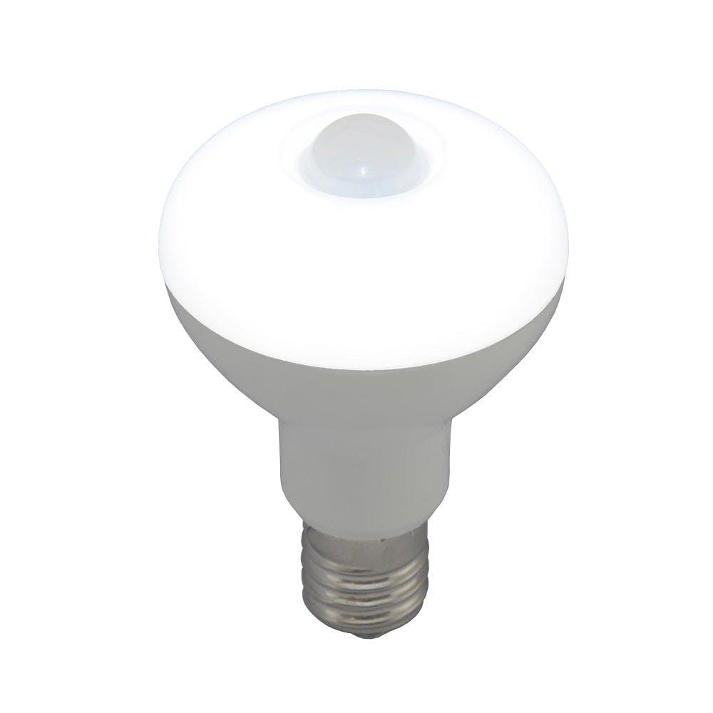 オーム電機 LED電球 レフランプ形 E17 40形相当 人感・明暗センサー付 昼光色 LDR4D-W/S-E17 9 06-3414, , product