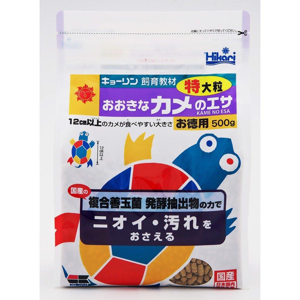 キョーリン おおきなカメのエサ特大粒 500g, , product