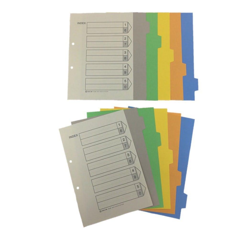 キングジム カラーインデックス 907-2K A4-S 2個組, , product