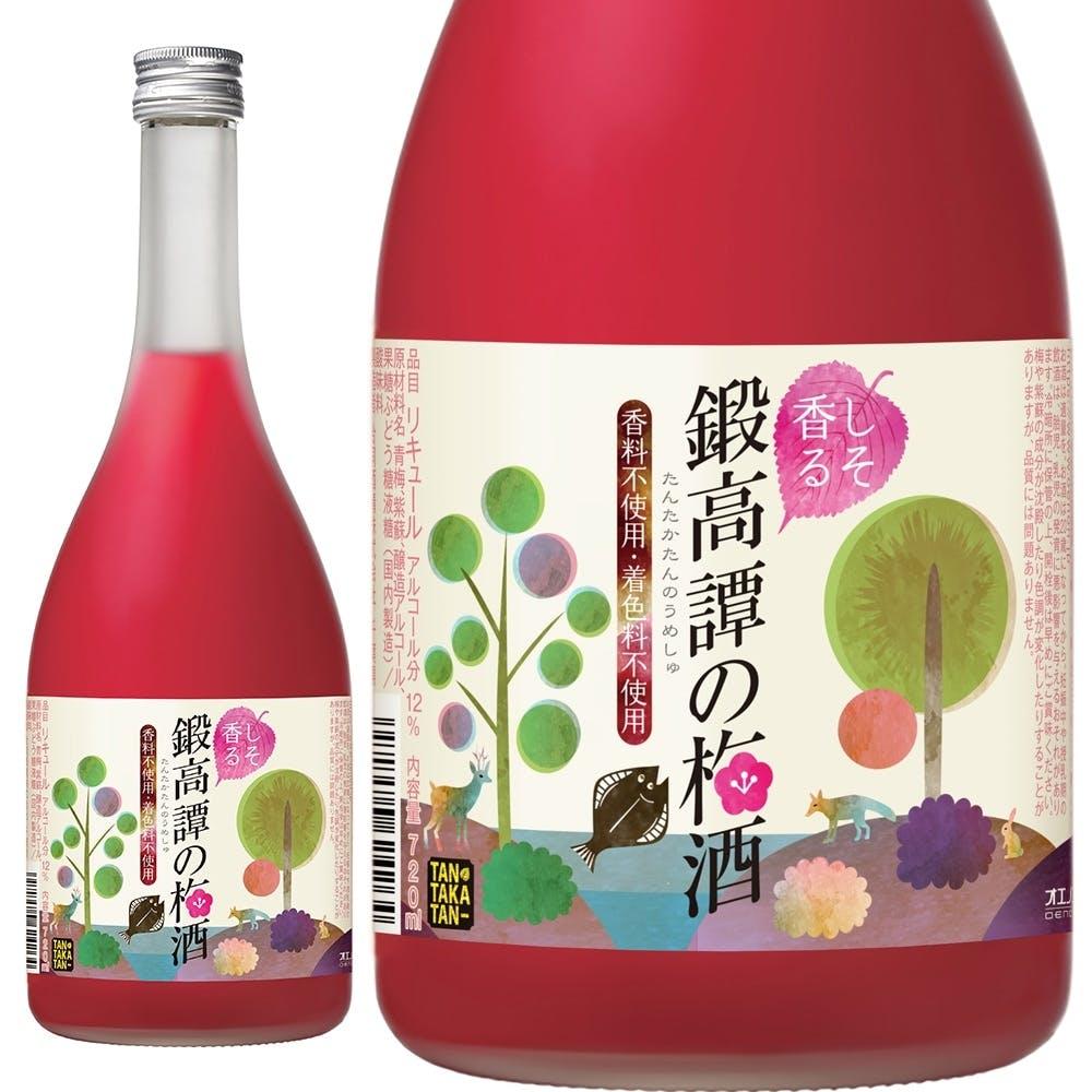 鍛高譚の梅酒 720ml【別送品】, , product