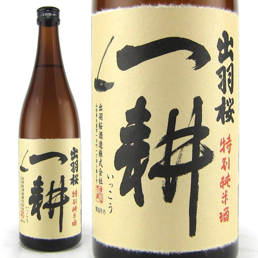 出羽桜 一耕 純米 火入れ 720ml【別送品】, , product