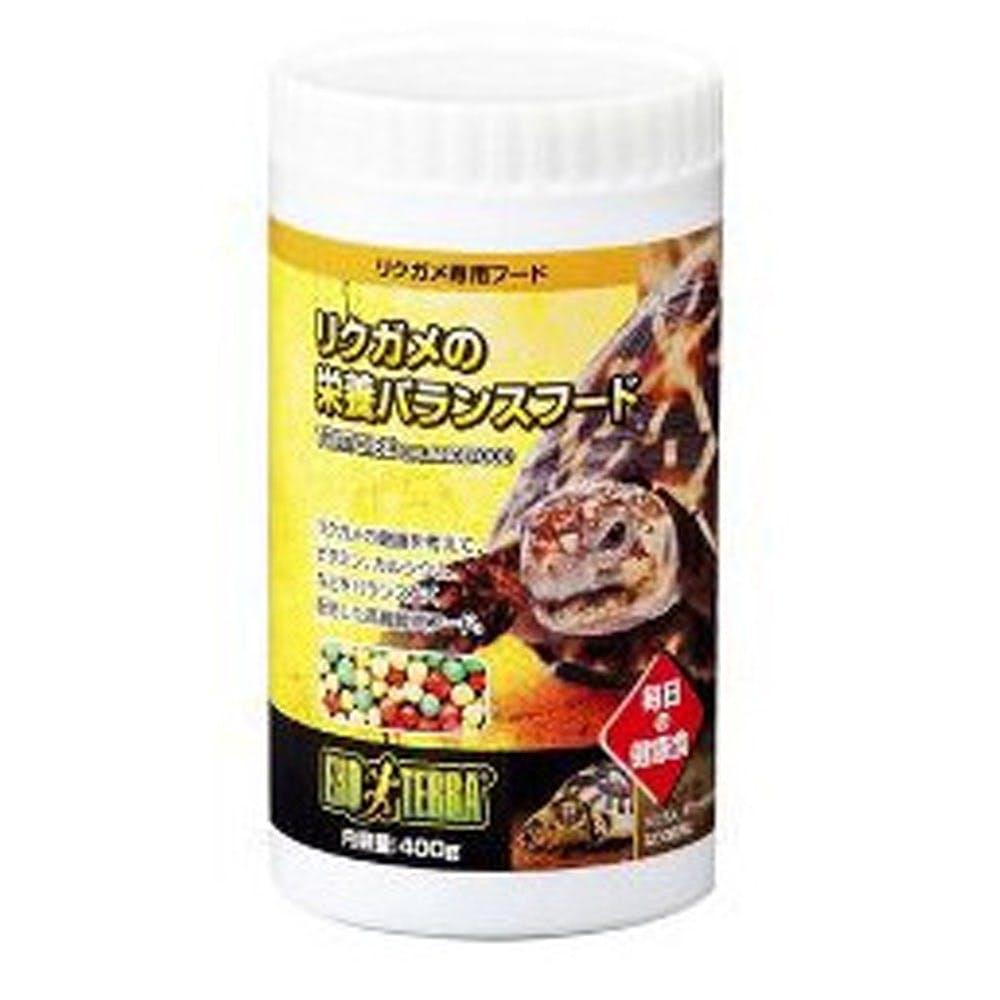 GEX リクガメの栄養 バランスフード400g, , product