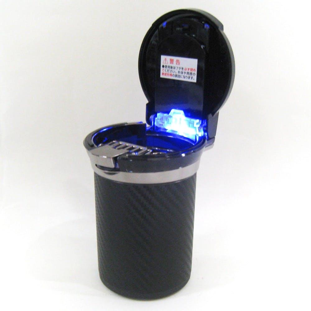 カーメイト DZ186 愛煙缶PREMIUM カーボン調ブラック, , product
