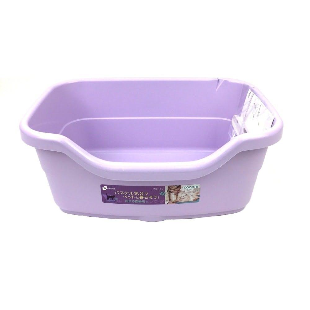 コロル ネコトイレ F40 パープル, , product