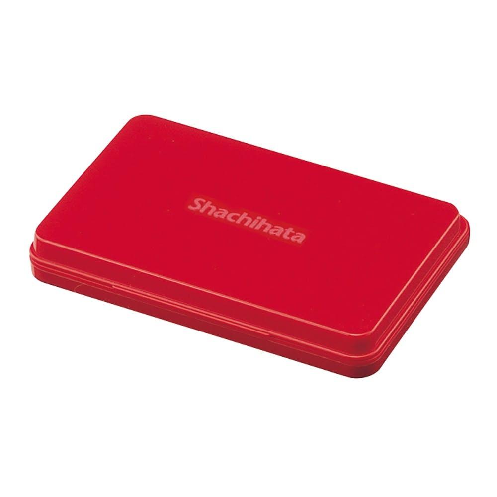 シヤチハタ スタンプ台 中型 赤, , product