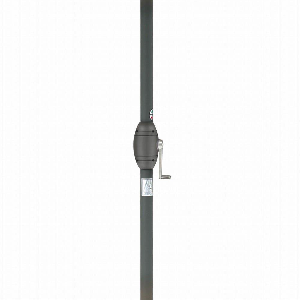 アルミパラソル チルト 2.5m グリーン【別送品】, , product