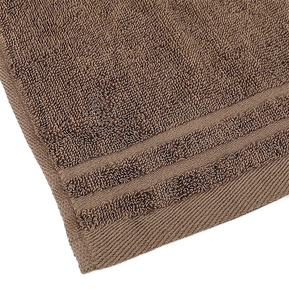 毛羽落ちの少ないバスタオル ブラウン, , product