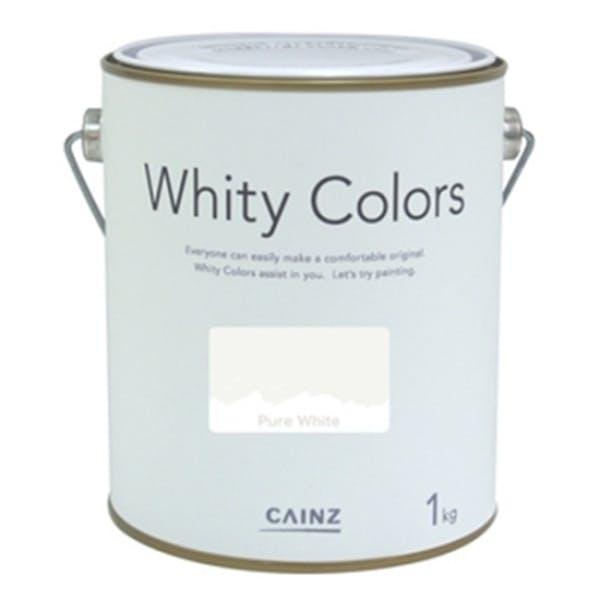 室内用塗料 ホワイティカラーズ ピュアホワイト 1kg, , product