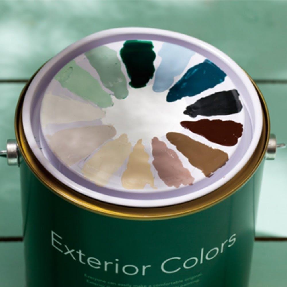 エクステリアカラーズ サンドグリーン 1kg, , product