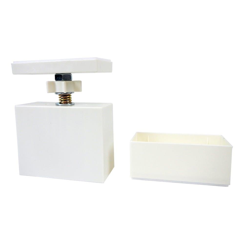 ラブリコ 2×4材用 アジャスター オフホワイト, , product