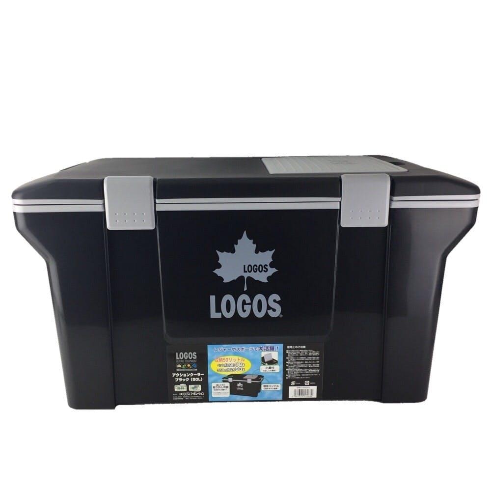 【店舗取り置き限定】ロゴス アクションクーラー 50 ブラック, , product