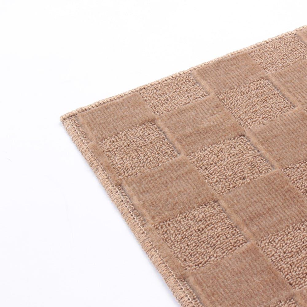 【数量限定】折畳カーペット プレオ 江戸間 3畳 ブラウン, , product