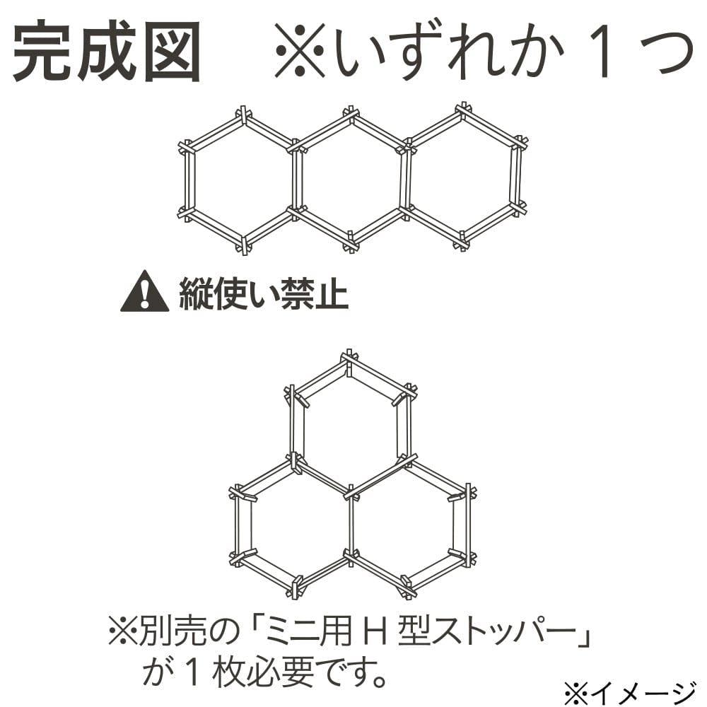 六角ラックミニ 16枚セット, , product