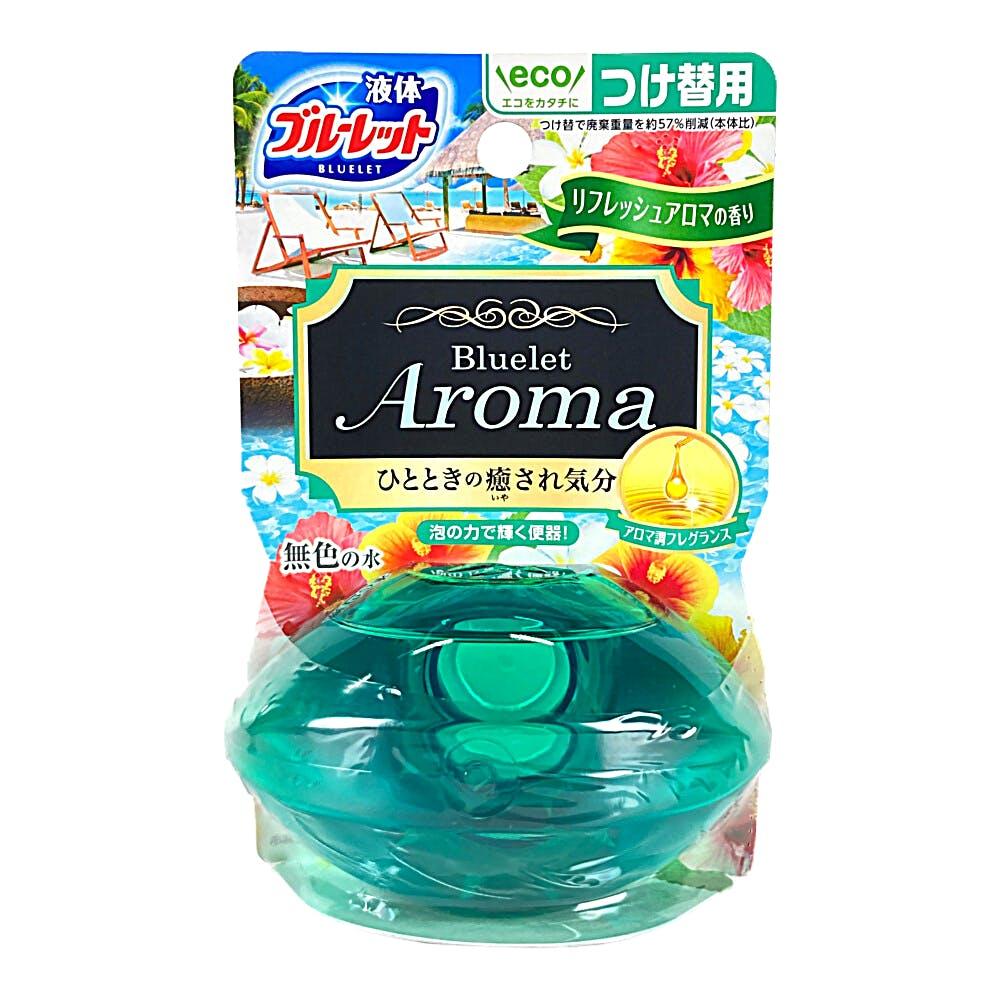 液体ブルーレットおくだけ リフレッシュアロマの香り つけ替え70ml, , product