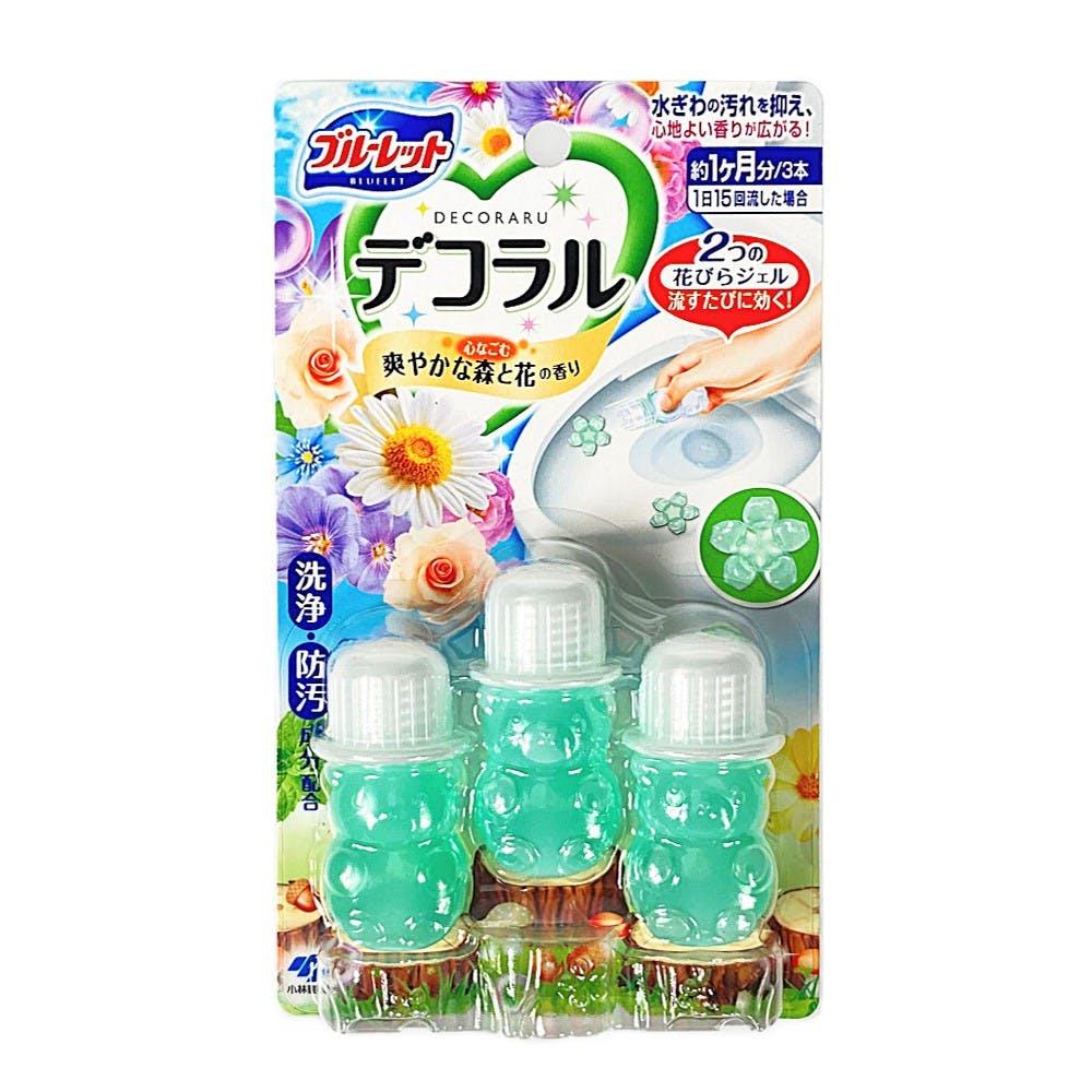 ブルーレット デコラル 爽やかな森と花の香り 7.5g×3個 トイレ用洗剤, , product