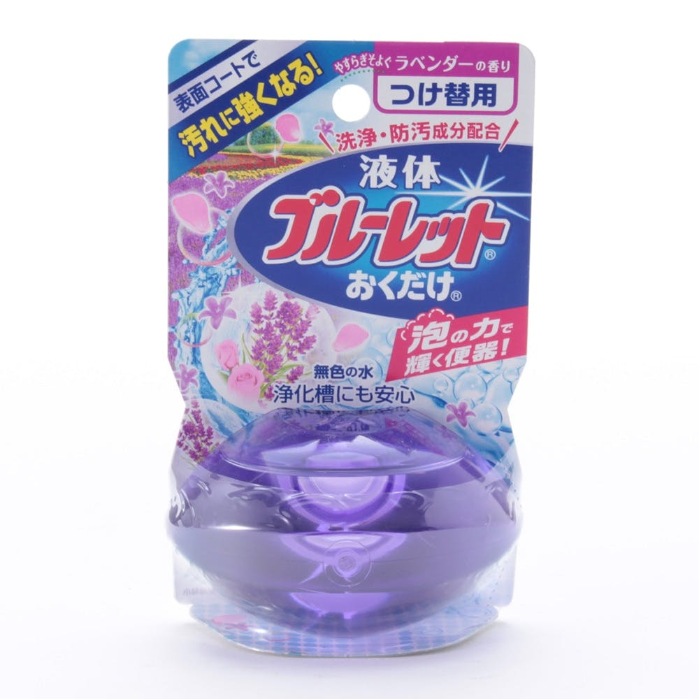 液体ブルーレットおくだけ ラベンダーの香り つけ替え70ml, , product