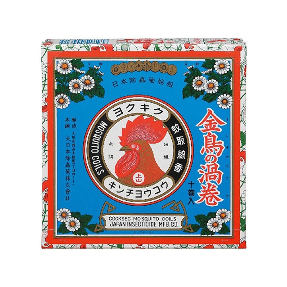 大日本除虫菊 KINCHO 金鳥の渦巻 10巻, , product