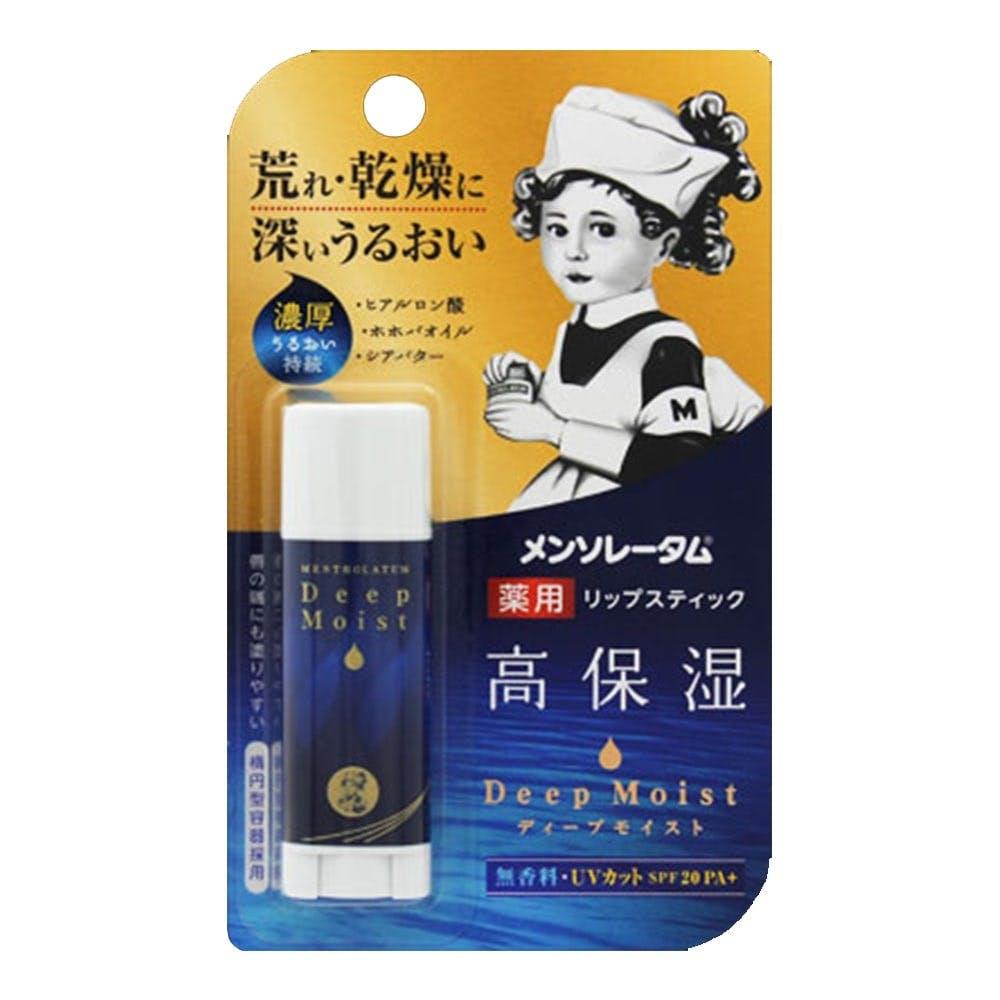 ロート製薬 メンソレータム ディープモイスト 無香料 4.5g, , product