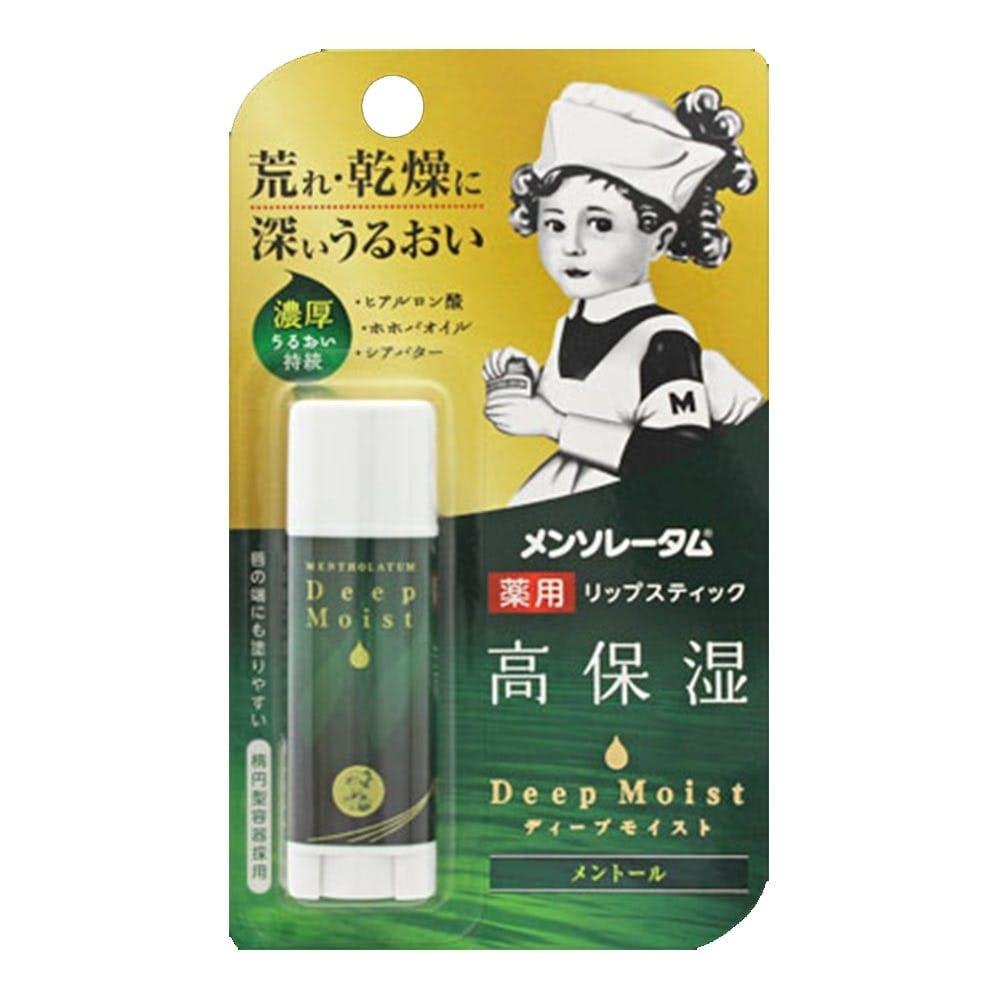 ロート製薬 メンソレータム ディープモイスト メントール 4.5g, , product