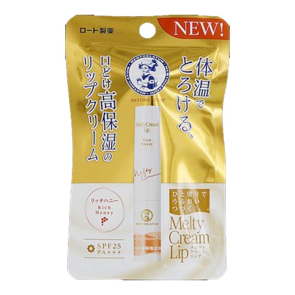 ロート製薬 メルティクリームリップ リッチハニー 2.4g, , product