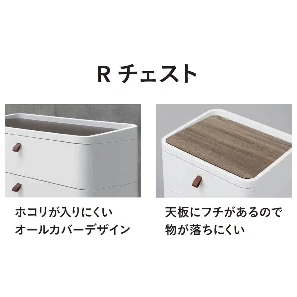 Rチェスト 724 ホワイト【別送品】, , product
